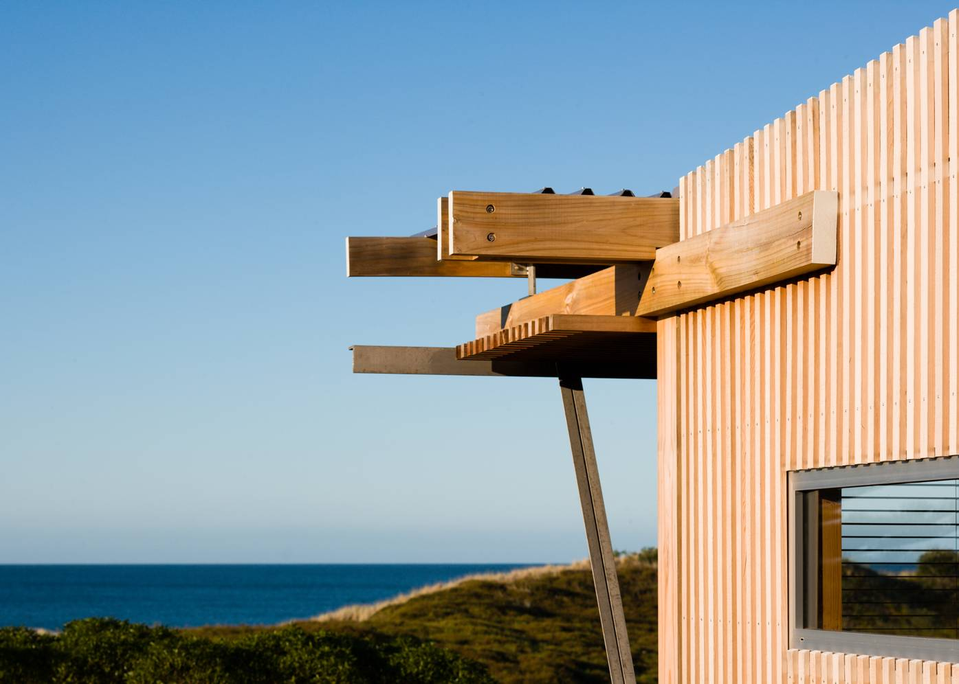 Oruawharo Bay Bach by Herbst Architects