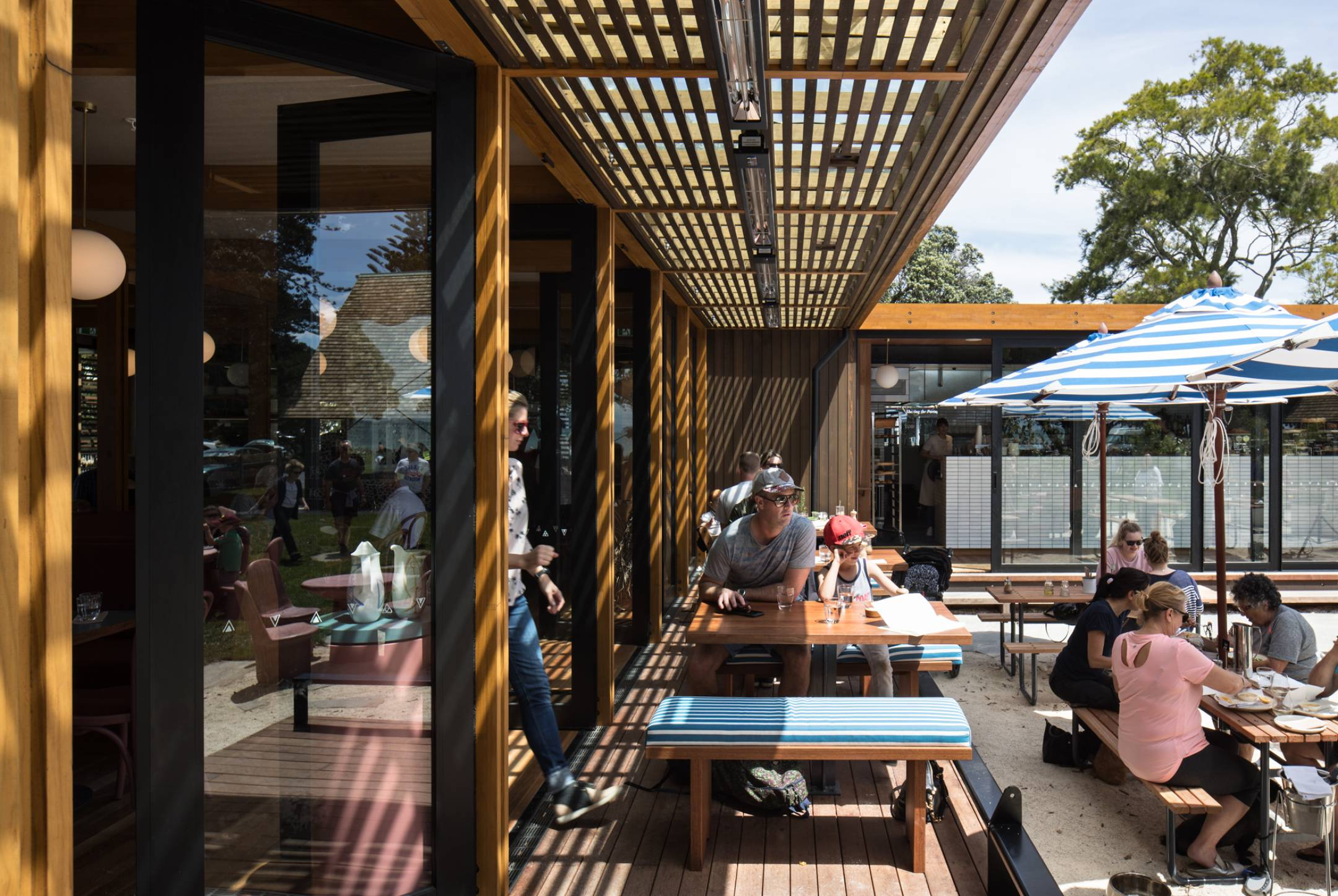 Mission Bay Pavilion restaurant