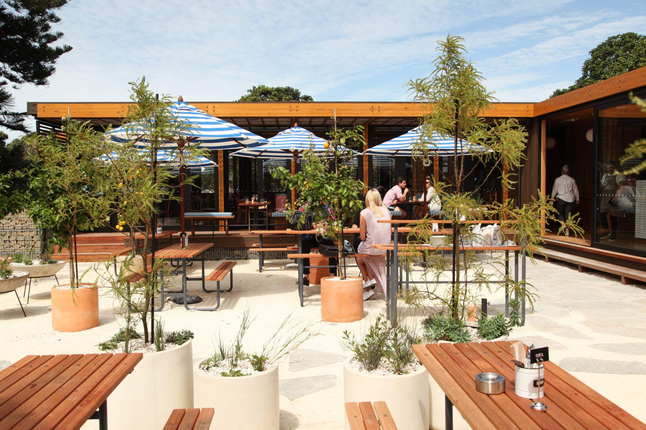 Mission Bay Pavilion restaurant by Herbst Architects