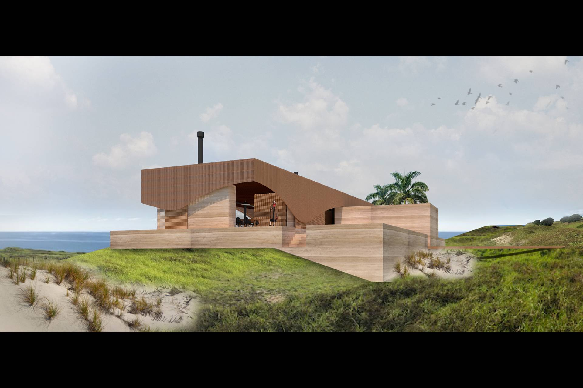 Dune House by Herbst Architects